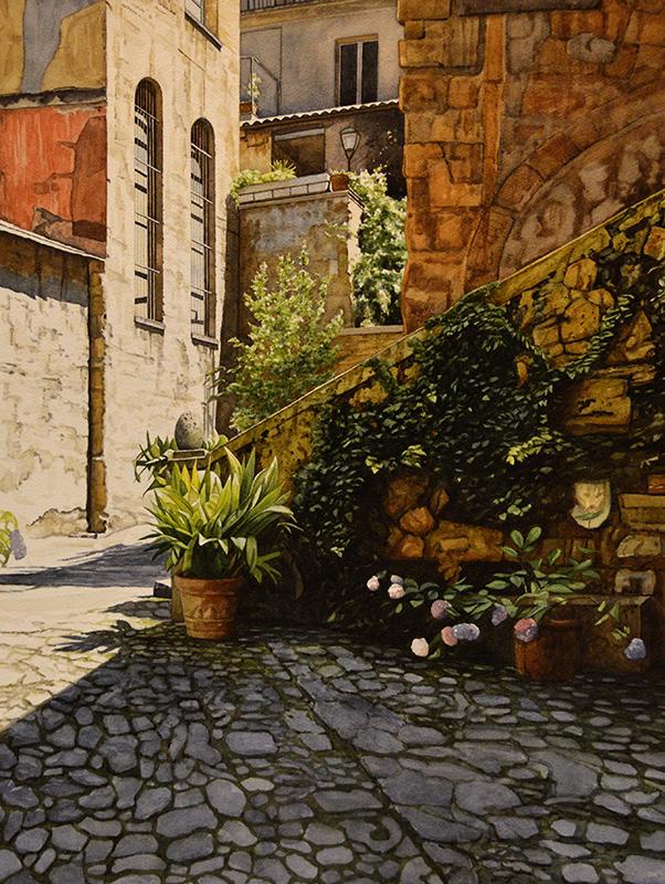 Courtyard Orvieto