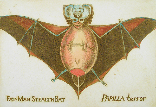 Fat Man Stealth Bat