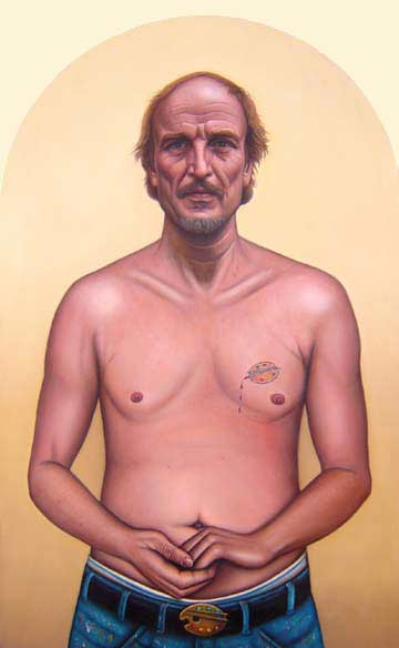 Self-Portrait with Palette Tattoo