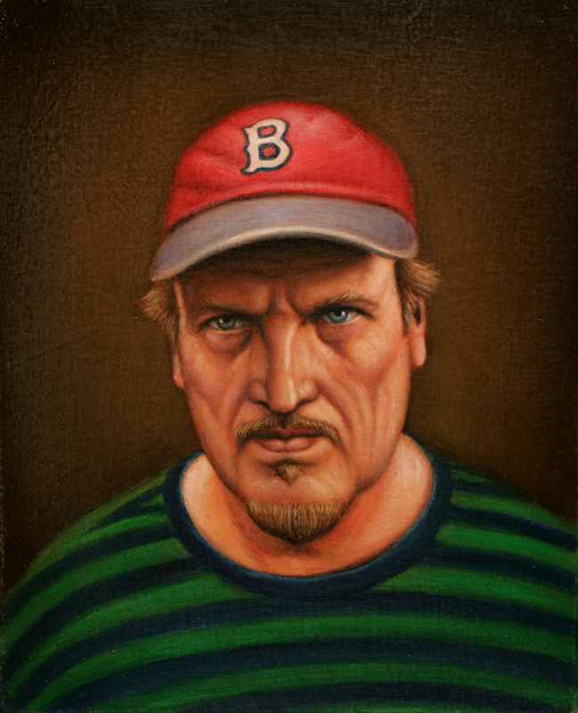 Self-Portrait with Red Sox Cap