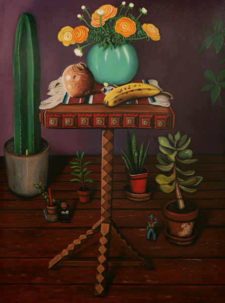 Still Life with Flowers and Banana
