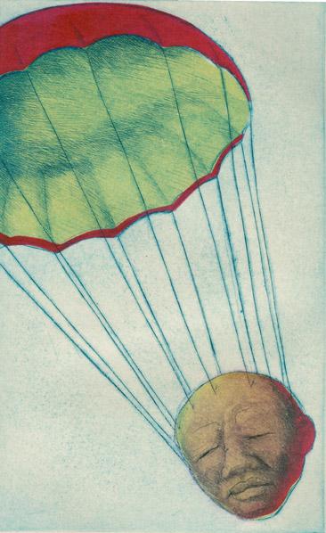 Parachuting Head