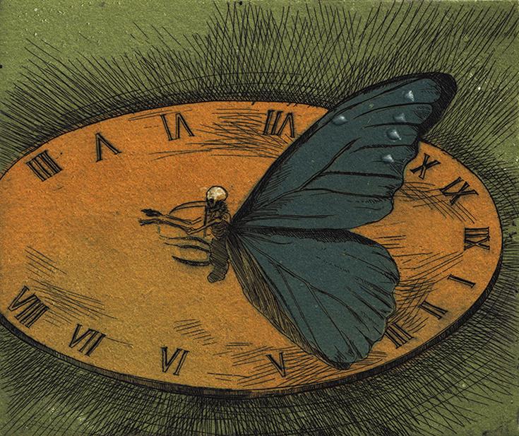 Sundial Clock ∙ Apocalypse Clocks ∙ R Michelson Galleries