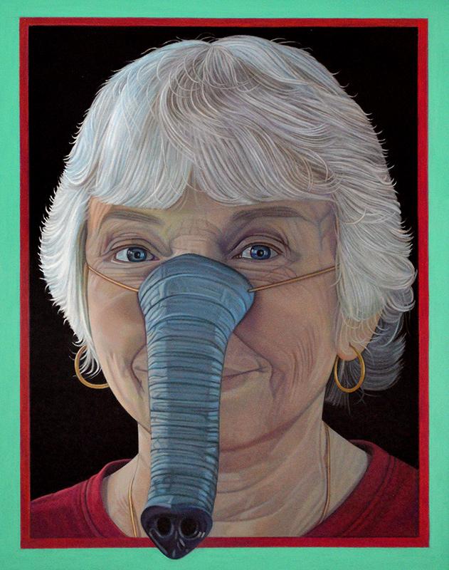 Jane Lund, Self Portrait
