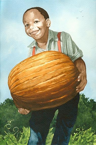 Alcee Lingo and the Pumpkin