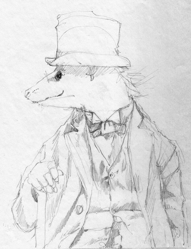 Brer Possum study