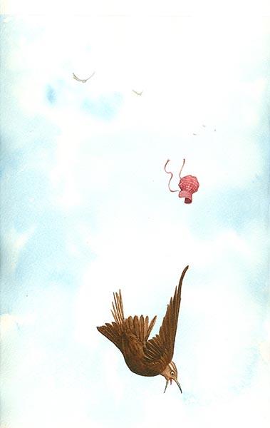 Brown Wren Flew High