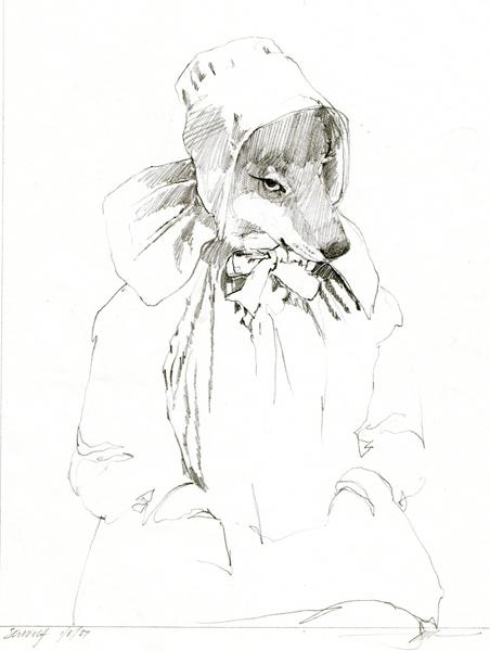 Miss Wolf study 2