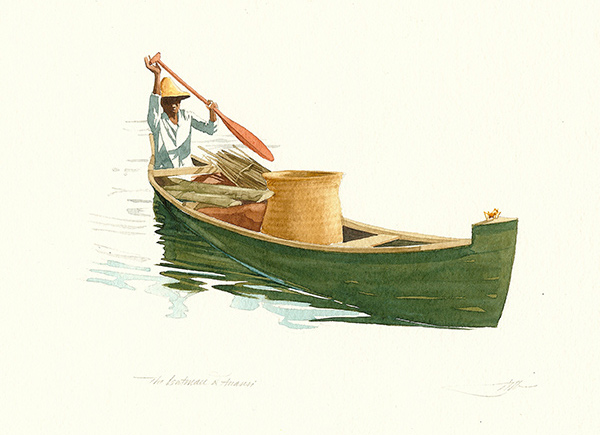 The Boatman and Anansi
