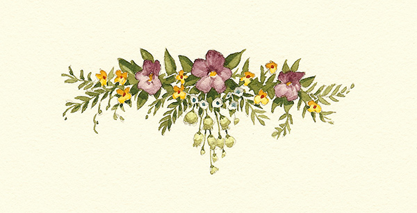 Flowers (half-title)