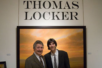 Thomas Locker Reception