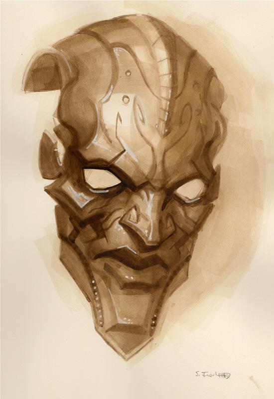 Menacing Mask