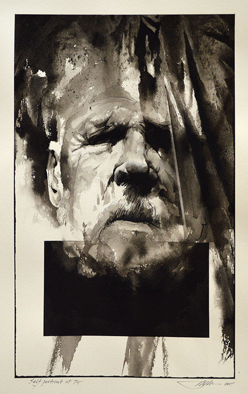 Self-Portrait at 75