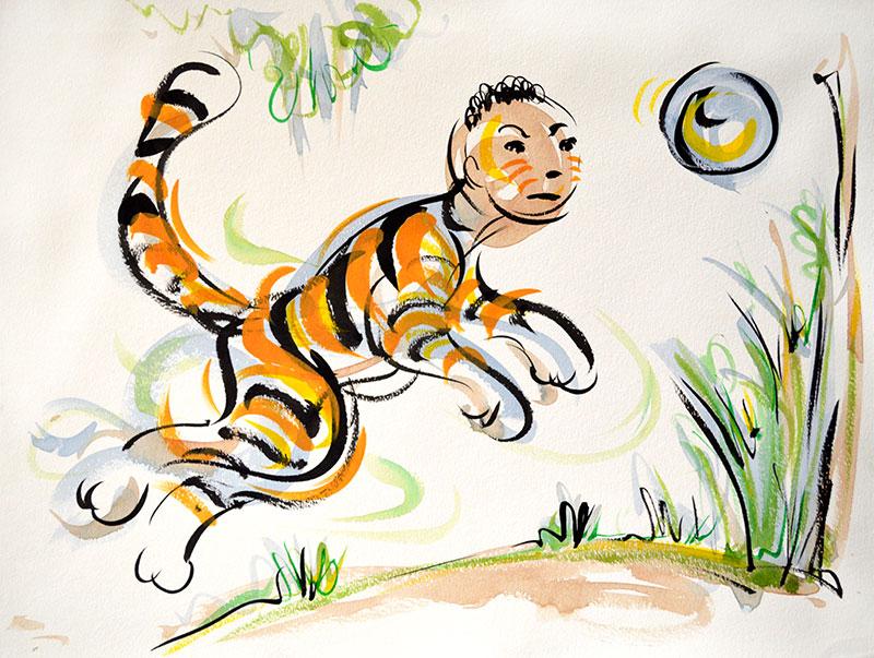 Owen as Tiger