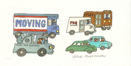 The Book of Traffic: Moving