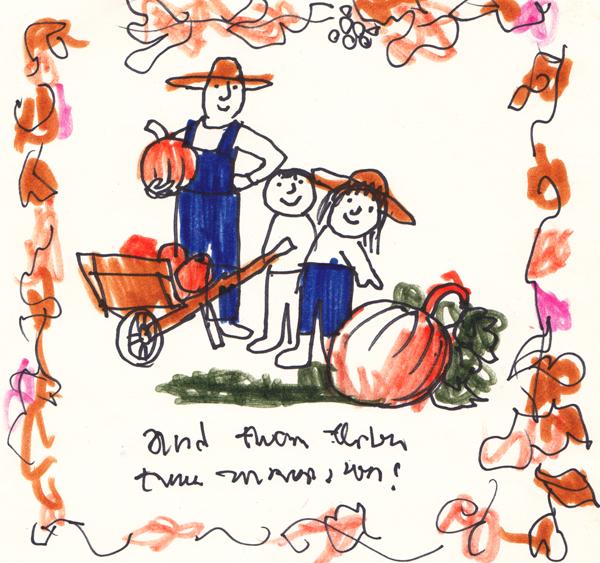 Autumn: Pumpkin Picking