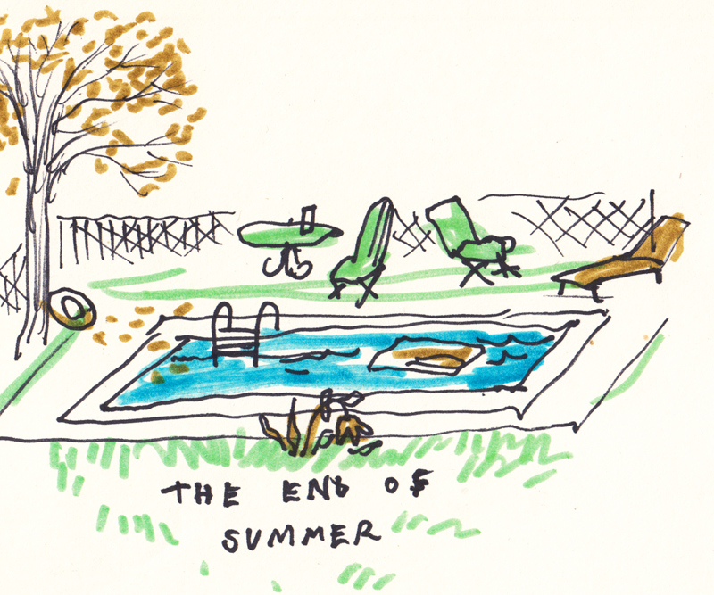 End of Summer: Pool