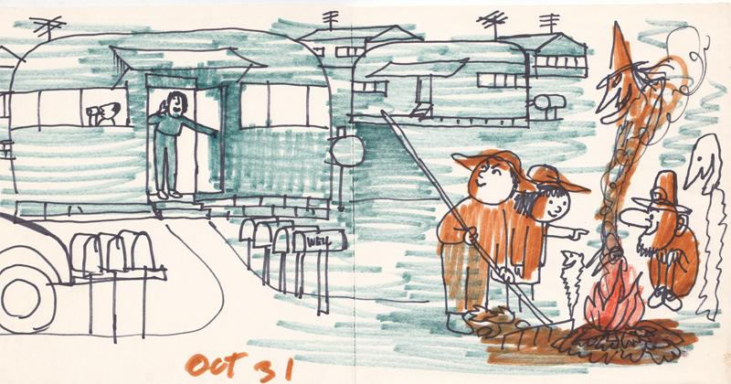 October 31st: Trailer Park