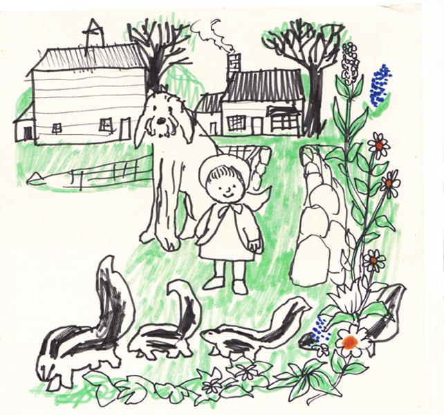 Spring Visitors: Skunks I