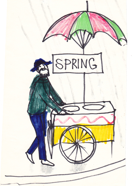 Springtime Vendor