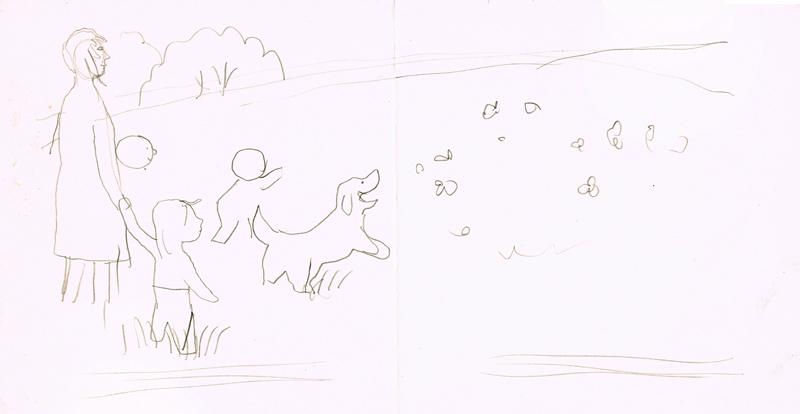 Summer: Dog Chasing