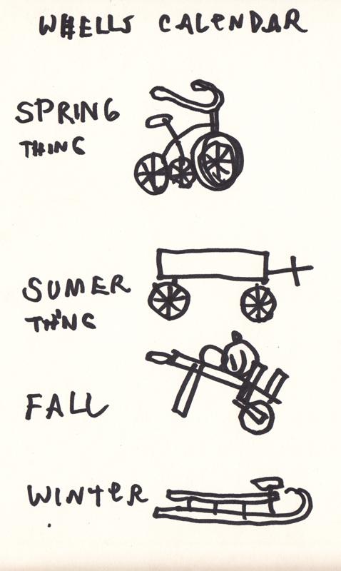Wheels Calendar