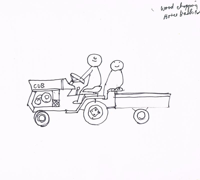 Wood Chopping Truck