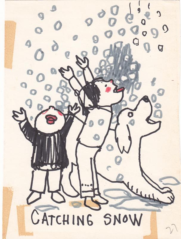 Catching Snow