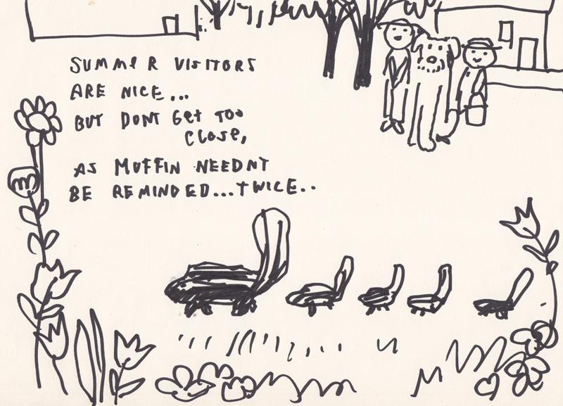 Summer Visitors: Skunks II