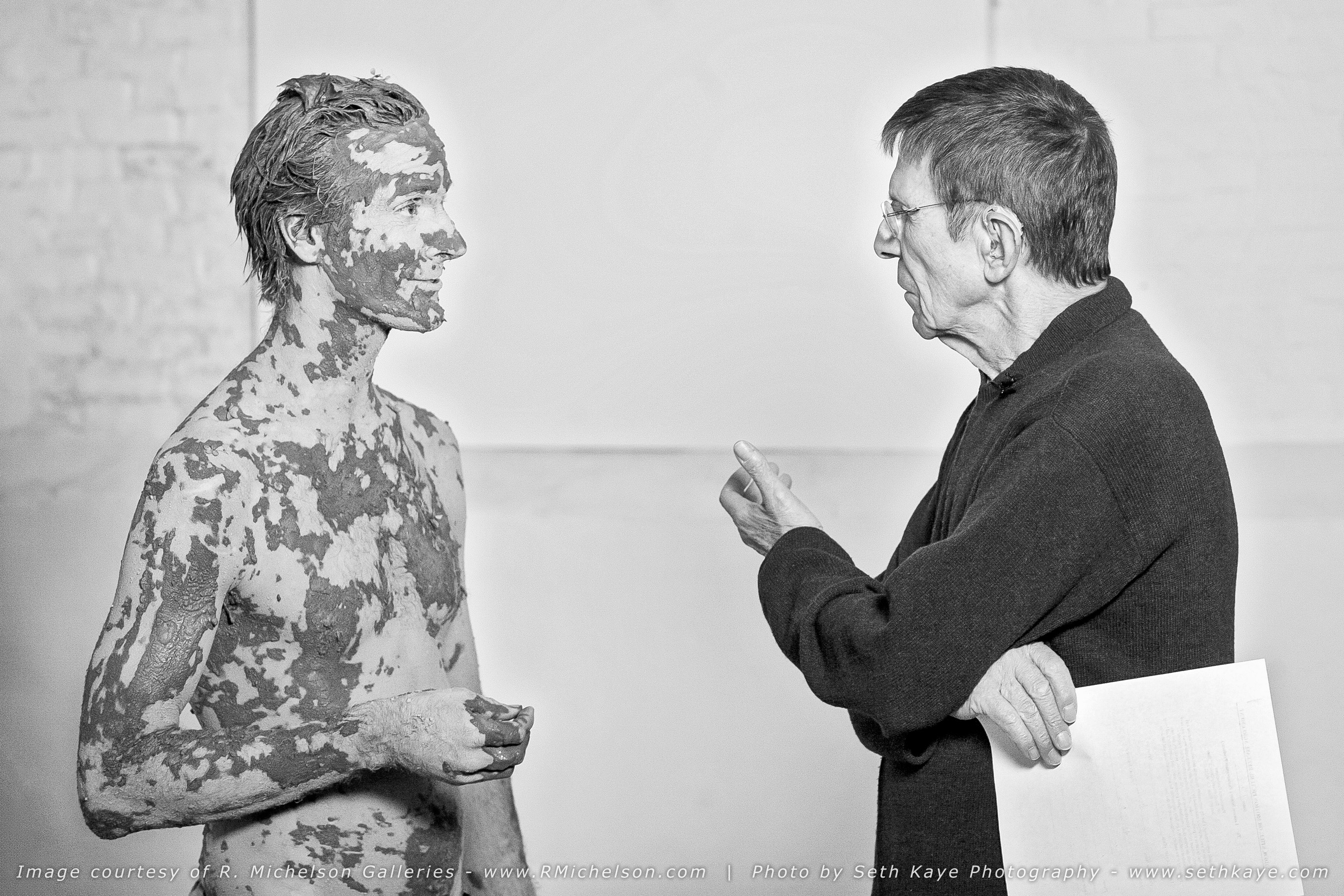 Leonard Nimoy at Secret Selves Photoshoot