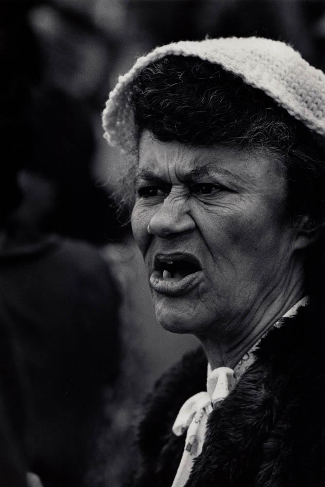 Woman at a Demonstration, Harlem, New York