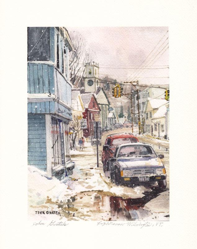 Light Snow Wilmington