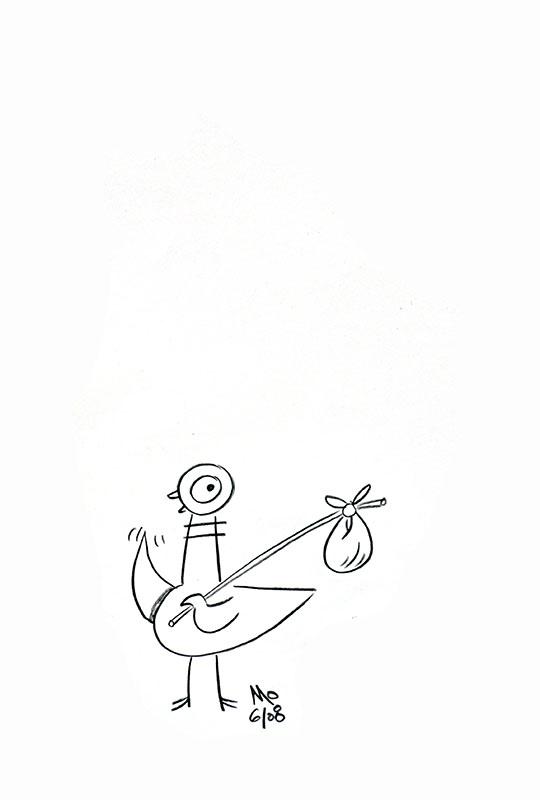 Pigeon Hitchhiking