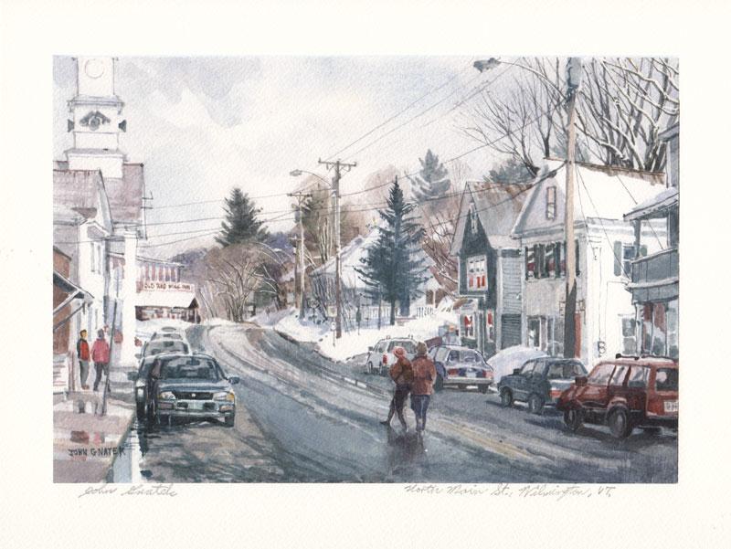 North Main Street Wilmington VT