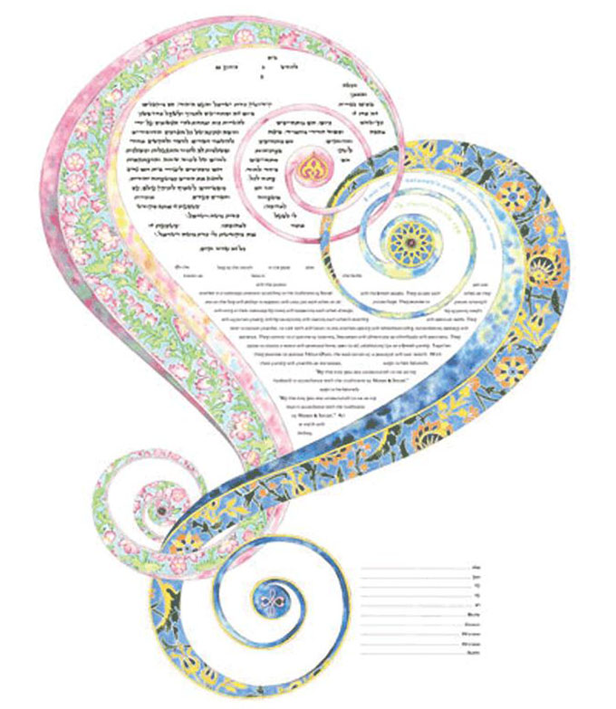 One Heart 2nd Edition Ketubah
