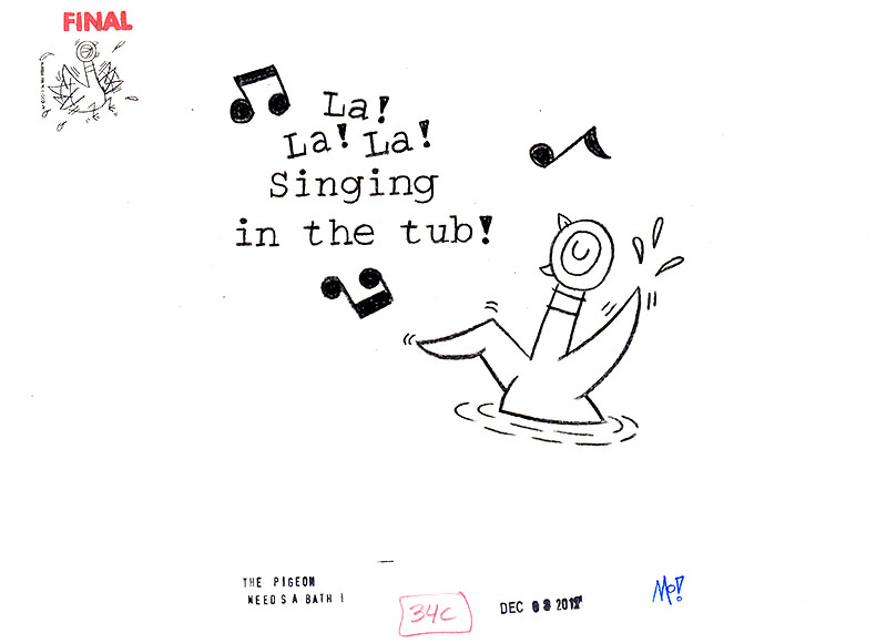 Singing in the Tub