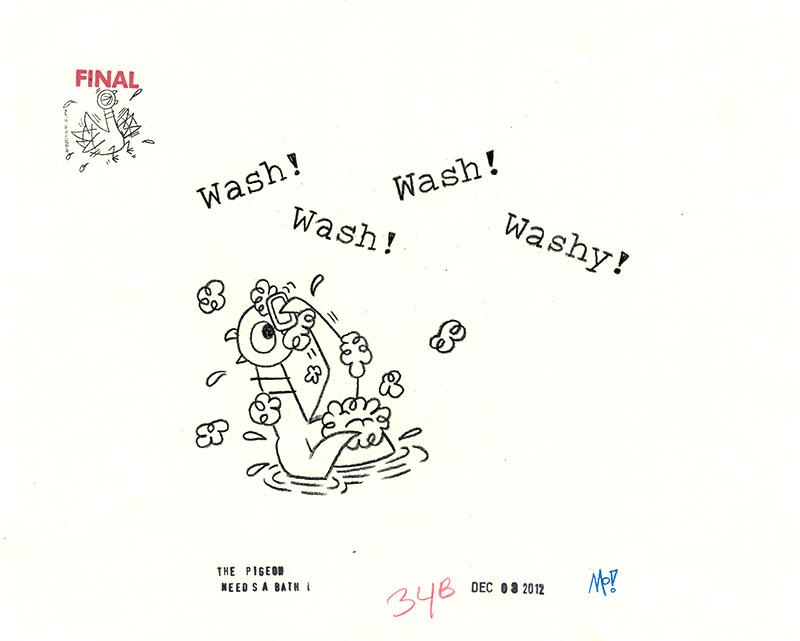 Wash! Wash! Washy!