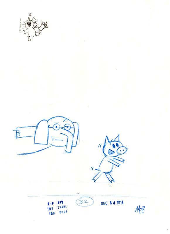 Ice Cream Penguin! Sketch