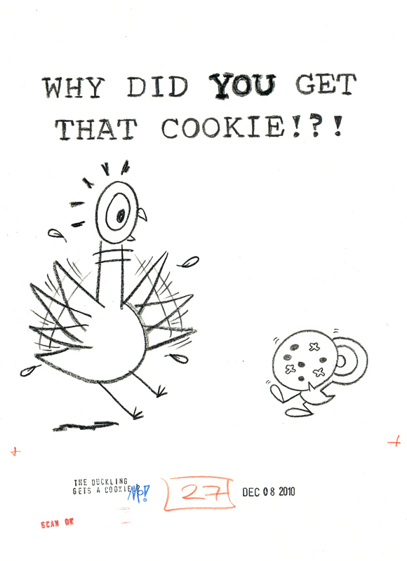 Why Did YOU Get That Cookie!?!