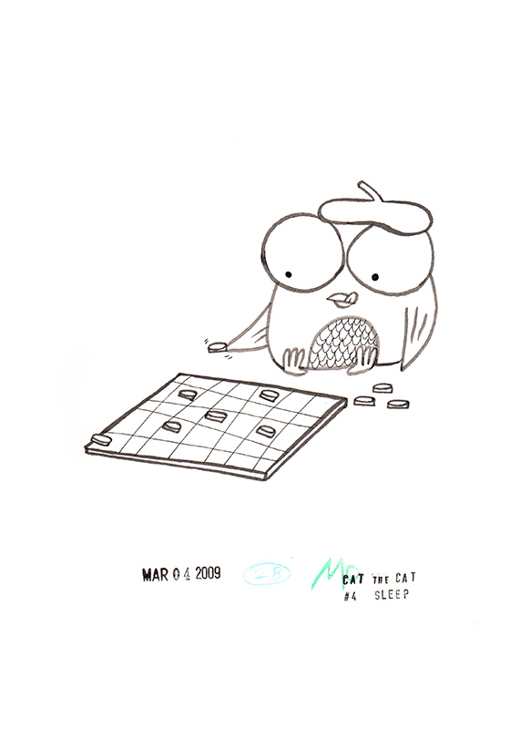Owl Checkers