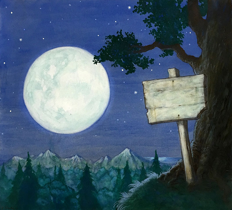 Moon and Sign Table of Contents