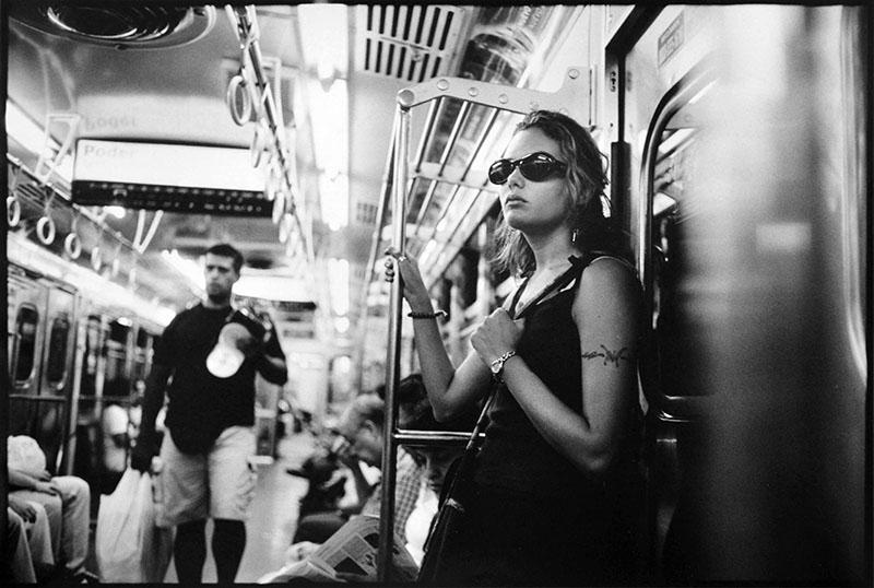 Girl on Metro