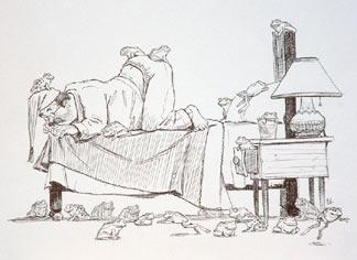 Mayor in Bed