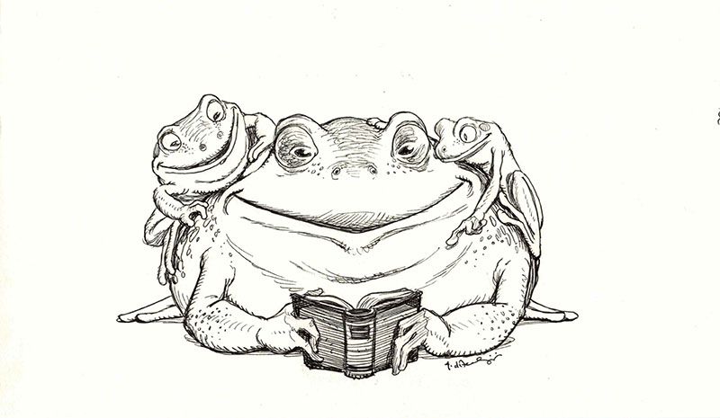Reading Frogs