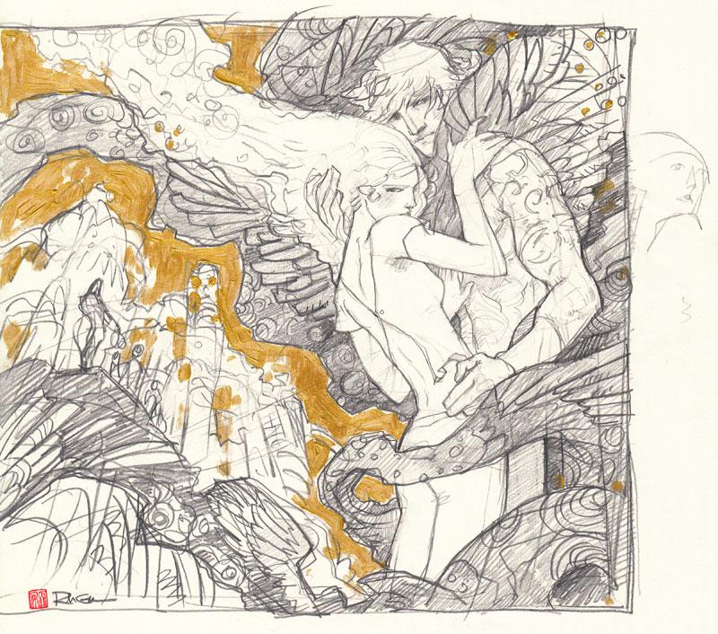 The Shadowhunter's Codex Sketch