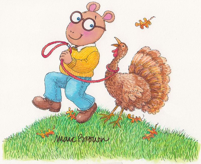 Arthur's Thanksgiving Cover