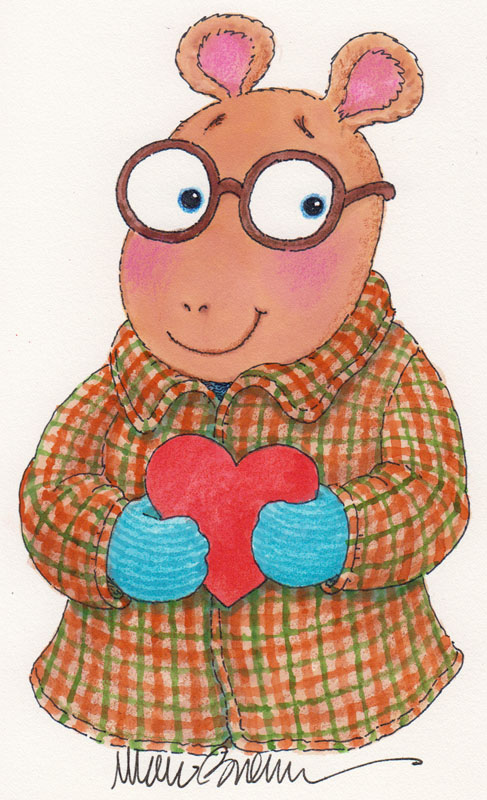Arthur's Valentine Cover