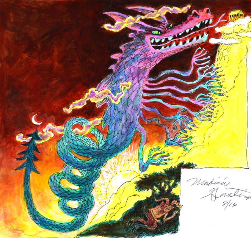 The Monster Typhon