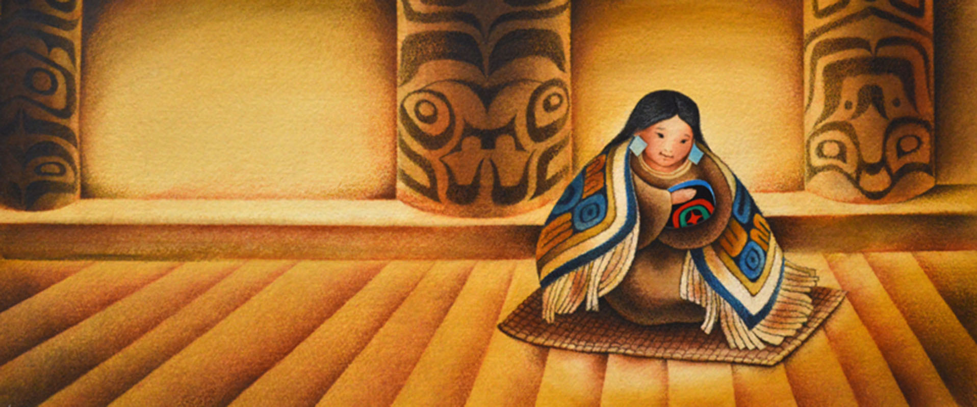 birth to a child raven a trickster tale from the pacific