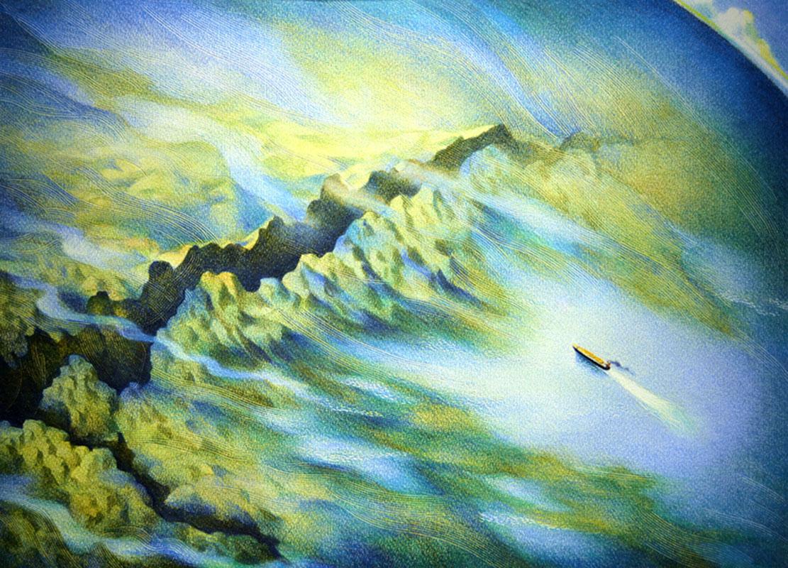 Portrait of the Ocean Floor